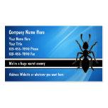 Plage-Kontrollen-Geschäfts-Karten Visitenkarten Vorlagen