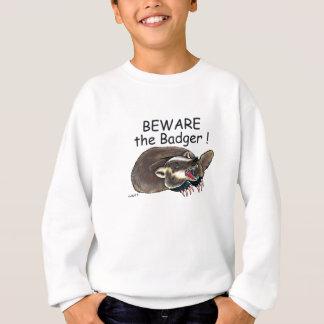 PlainBadger_black Sweatshirt