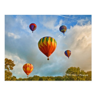 Plainville Ct Heißluft-Ballone Postkarte
