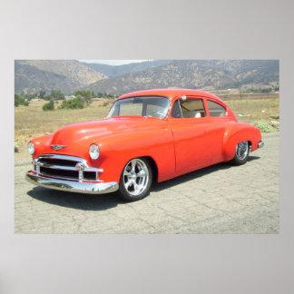 Plakat 1950 Chevrolets Fleetline