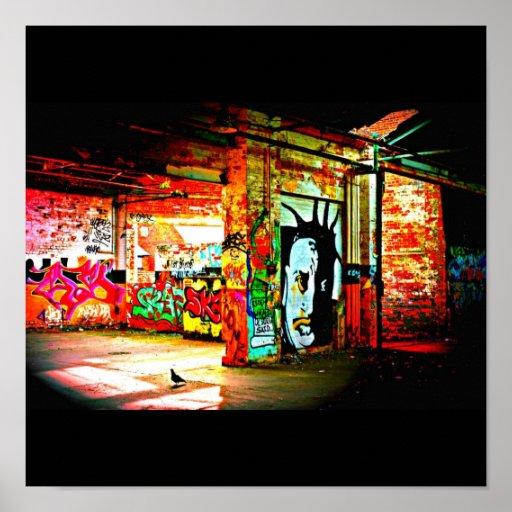 Plakat-Abstrakte/Verschieden-Graffiti Galerie 3