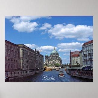 Plakat Berlins, Deutschland