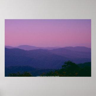 Plakat Blue Ridge Mountains - North Carolina…
