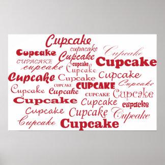 Plakat Cupcake