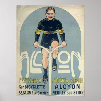 Plakat, das Francois Faber darstellt Poster