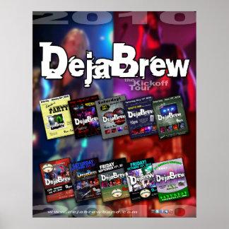 Plakat DejaBrew Band Ausflug 2010-1
