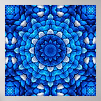 Plakat der Kaleidoskop-Kunst-37