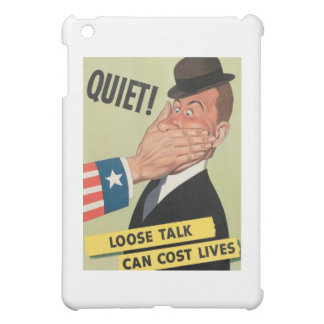 Plakat der Propaganda-WW2 iPad Mini Hülle