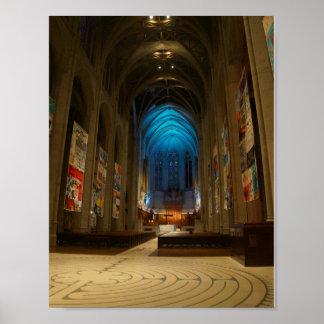 Plakat der San Francisco Anmut-Kathedralen-#2