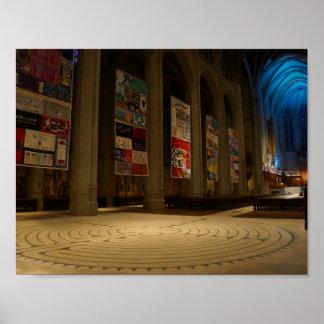 Plakat der San Francisco Anmut-Kathedralen-#6