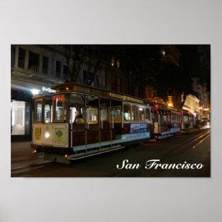 Plakat der San Francisco Drahtseilbahn-#3