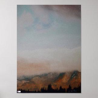 Plakat-Druck Mt Marcy Poster