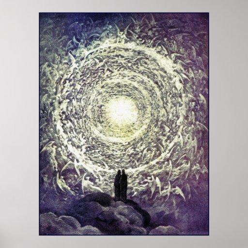 Plakat/Druck: Weiße Rose durch Gustave Dore