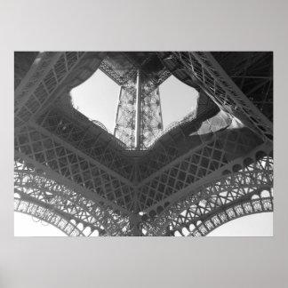 Plakat--Eiffelturm-Basis Poster
