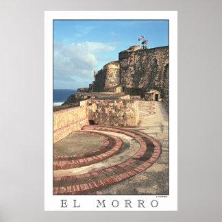 Plakat EL MORRO Puerto Rico