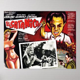 Plakat EL Satanico