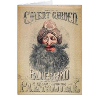 Plakat für eine Weihnachtspantomime Karte