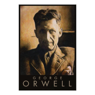 Plakat Georges Orwell