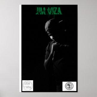 Plakat Jims Viza