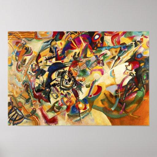 Plakat Kandinsky Zusammensetzungs-VII