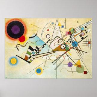 Plakat Kandinsky Zusammensetzungs-VIII