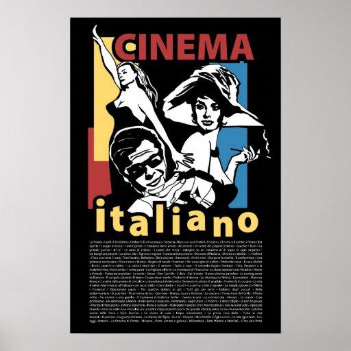 Plakat-Kino Italiano
