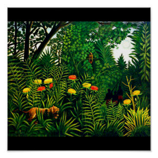 Plakat-Klassisch Vintag-Henri Rousseau 8