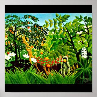 Plakat-Klassisch Vintag-Henri Rousseau 9
