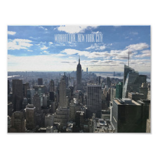 Plakat Manhattans New York