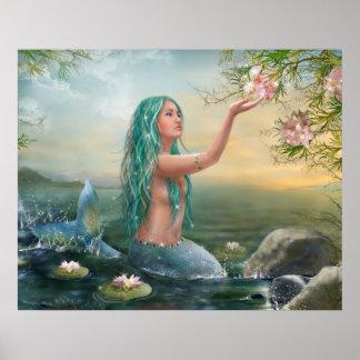 Plakat Meerjungfrau Ariel