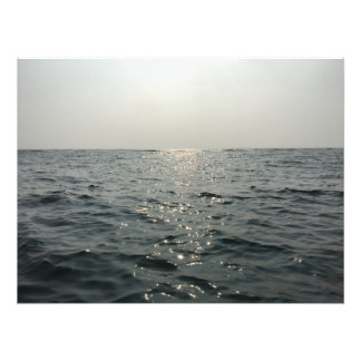 Plakat mit blauem Meer Fotodruck