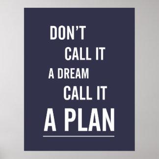 Plakat: Nennen Sie es einen Plan (Marine) Poster