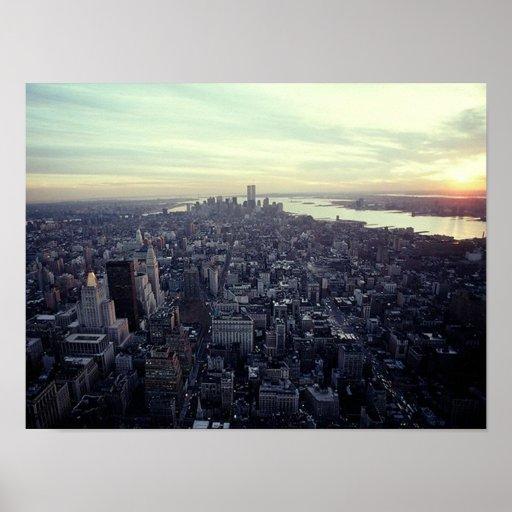 PLAKAT NYC~ in Memoriam ~ Twin Towern