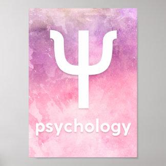 Plakat Psychology 002 A4