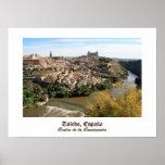 Plakat Toledos Spanien