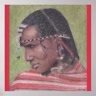 Plakat, ursprüngliche Kunst von Afrikaner Maasai Poster