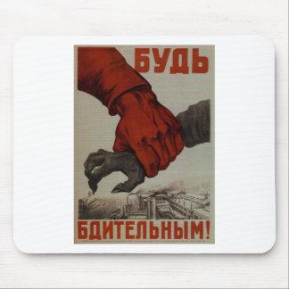 Plakat WW2: UDSSR-Propaganda Mousepad