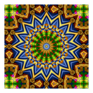 Plakate der Kaleidoskop-Kunst-33