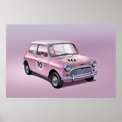 Plakatrosa Mini Coopers S Posterdrucke