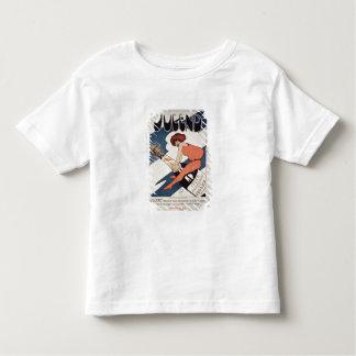 Plakatwerbung 'Jugend, illustriertes wöchentliches Shirt