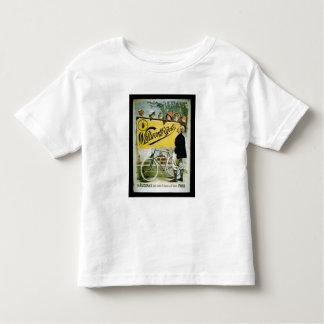 """Plakatwerbung """"Whitworth fährt"""", Paris rad (colo Shirts"""