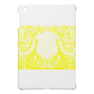 Plaketten-gelbes Weiß die MUSEUM Zazzle Geschenke iPad Mini Schale