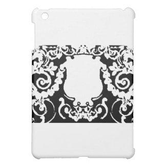 Plaketten-weißes Schwarzes die MUSEUM Zazzle iPad Mini Hüllen