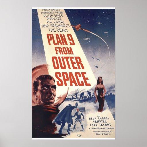 Plan 9 vom Weltraum Plakatdrucke
