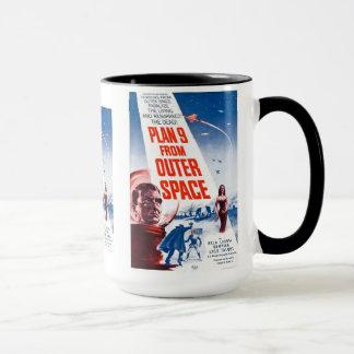 Plan 9 vom Weltraum Tasse