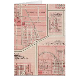 Plan des grünen Schlosses, Putnam Co mit Karte