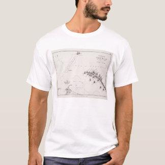 Plan des Kampfes des Nils am 1. August 1798 c T-Shirt