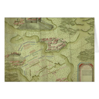 Plan des Kampfes von Mollwitz Karte