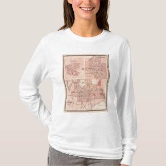 Plan von Warschau mit Pierceton, Plymouth T-Shirt