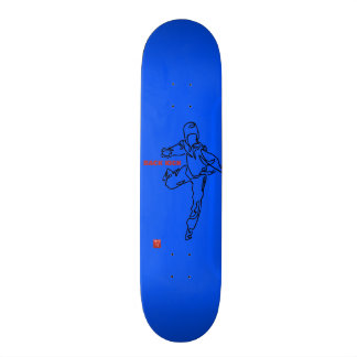 Planche à roulettes TAEKWONDO DWICHAGI back kick2 20,6 Cm Skateboard Deck